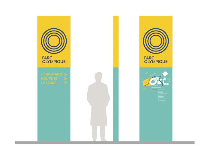 Parc Olympique de Montréal branding 19