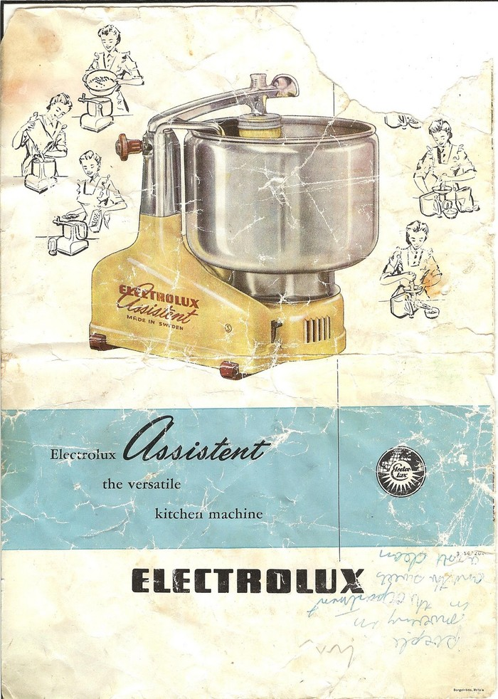 Electrolux Assistent N4 manual 1