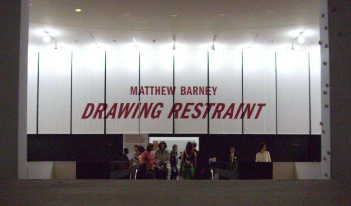 """Matthew Barney: Drawing Restraint"" at SFMOMA 2"