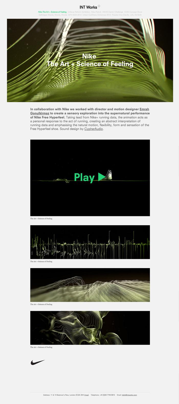 INT Works website 1