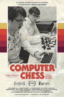 <cite>Computer Chess</cite> movie poster