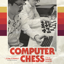 <cite>Computer Chess</cite> movie poster