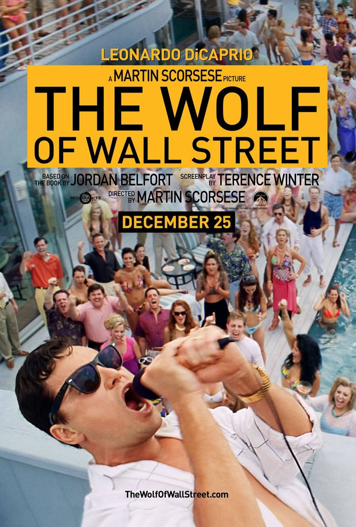 The Wolf of Wall Street movie posters 1