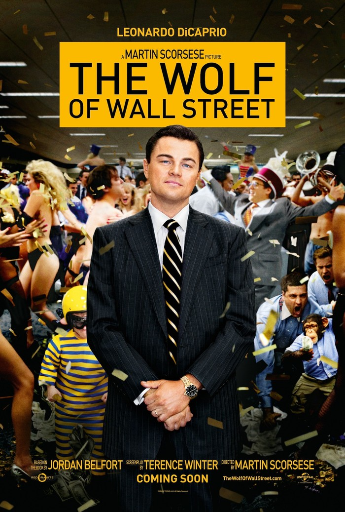 The Wolf of Wall Street movie posters 2