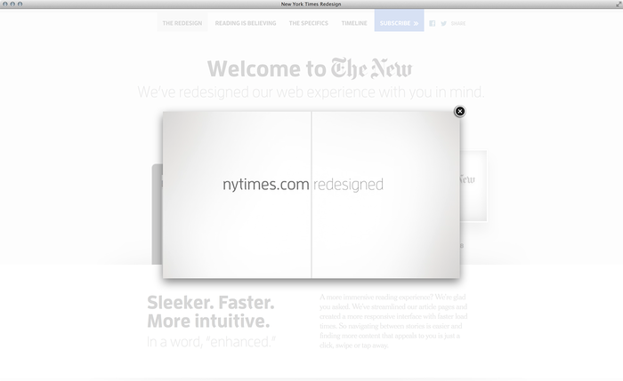 NYTimes.com Redesign Announcement 4