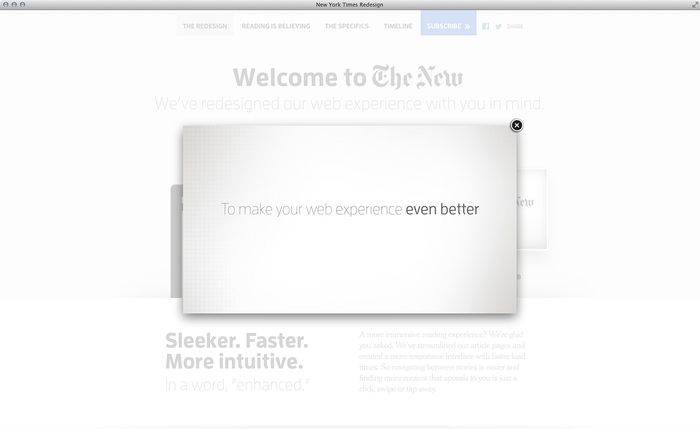 NYTimes.com Redesign Announcement 5