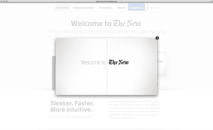 NYTimes.com Redesign Announcement 6