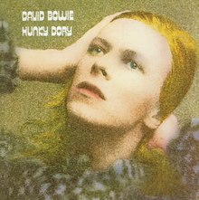 David Bowie – <cite>Hunky Dory</cite> album art