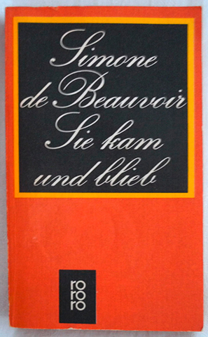 Simone de Beauvoir series, Rowohlt editions 3
