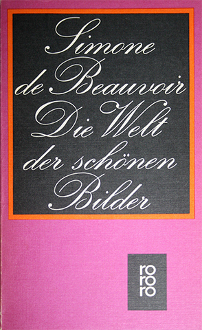 Simone de Beauvoir series, Rowohlt editions 4