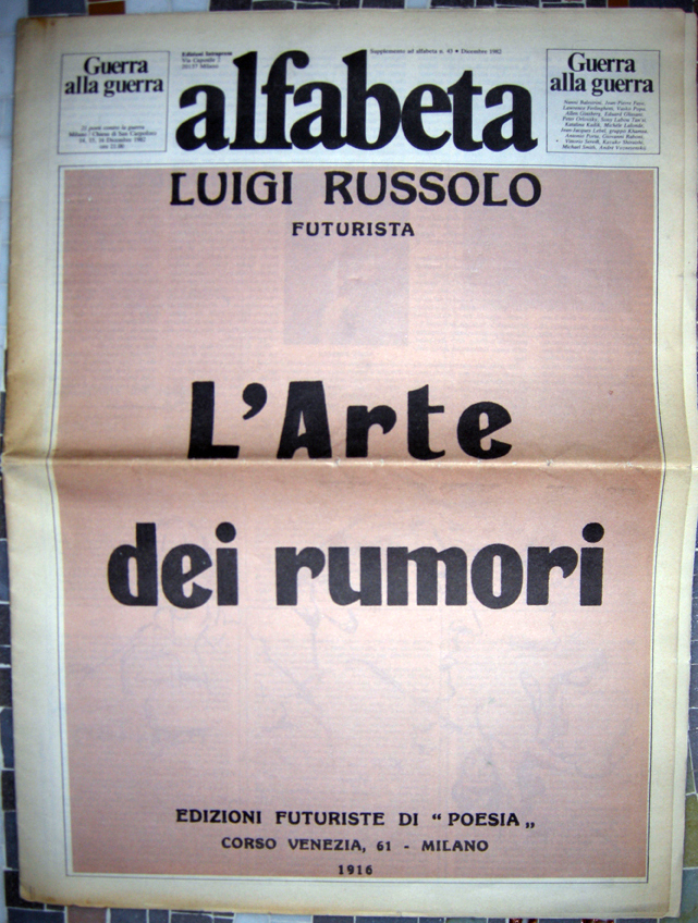 L'Arte dei rumori (The art of noises) 2