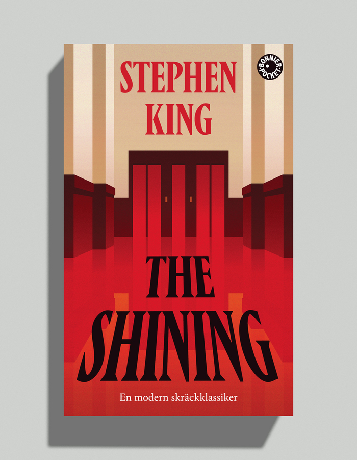 The Shining by Stephen King, Bonnier Pocket edition