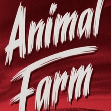 <cite>Animal Farm</cite> by George Orwell, Penguin edition