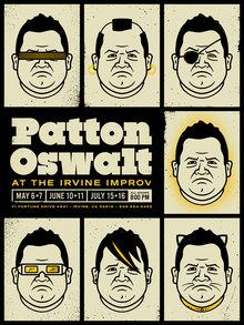 Patton Oswalt at the Irvine Improv poster