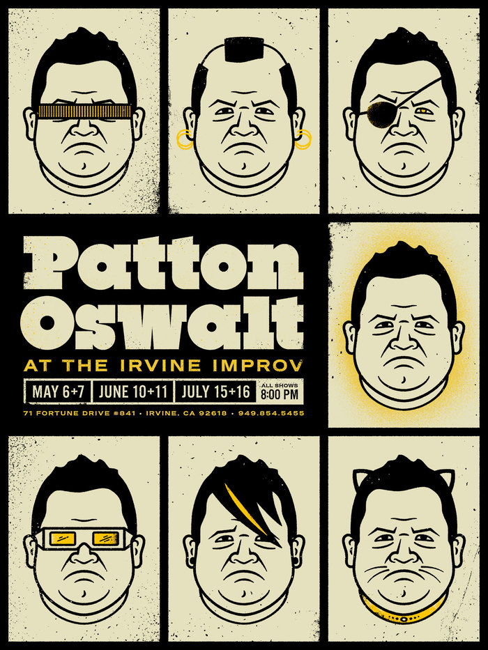 Patton Oswalt at the Irvine Improv poster