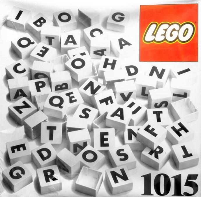 LEGO Dacta Letters 1