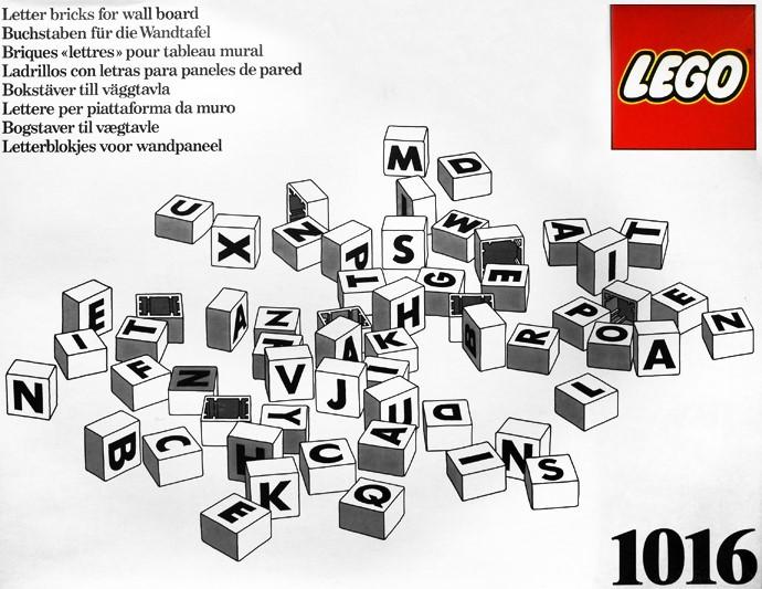 LEGO Dacta Letters 4