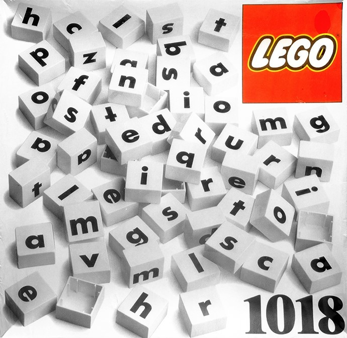 LEGO Dacta Letters 3