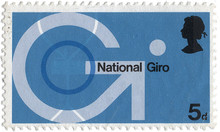 National Giro postage stamp