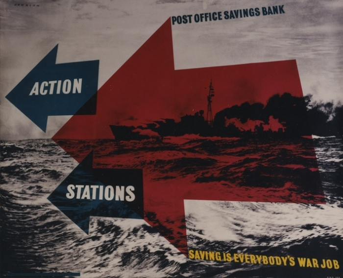 Post Office Savings Bank: War Savings Poster