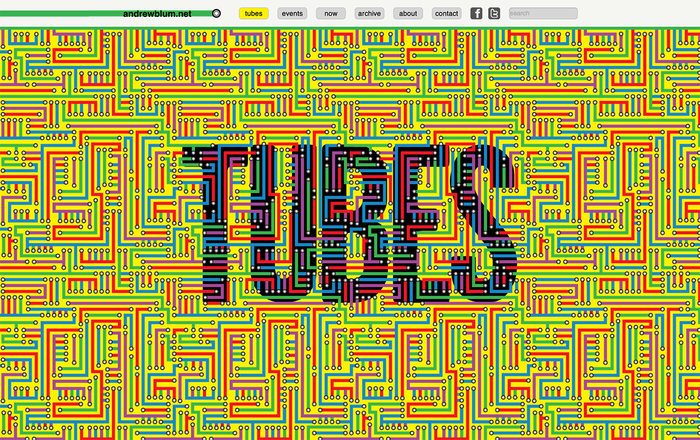 Tubes: A Journey to the Center of the Internet, Hardcover Edition and Website 2