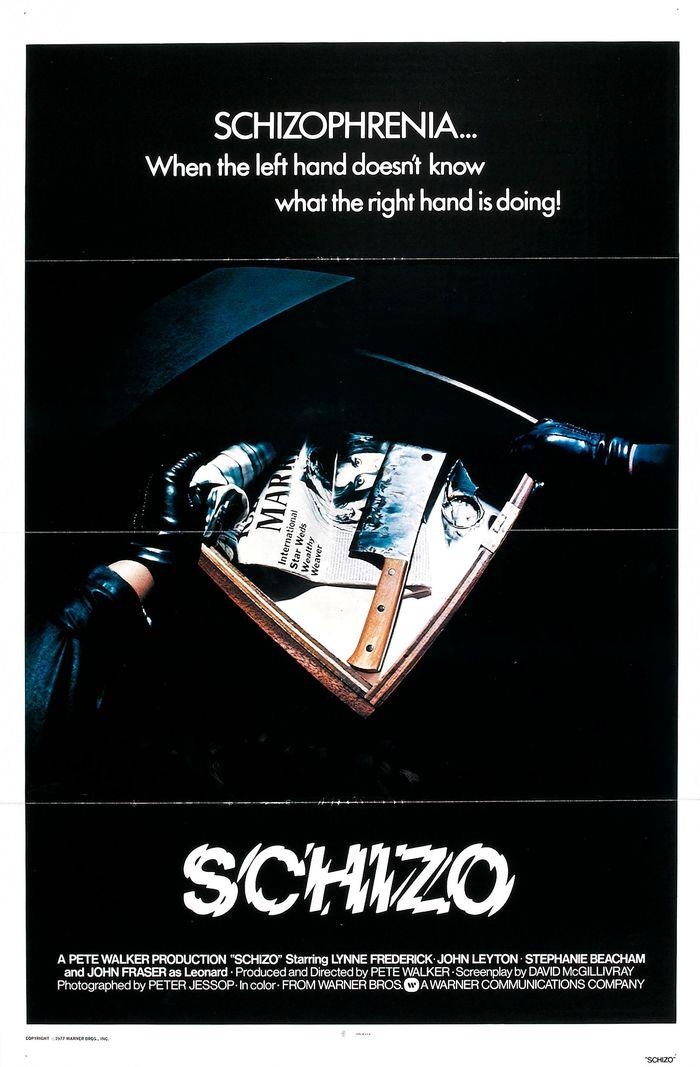 Schizo movie posters 1