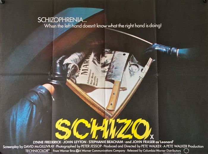 Schizo movie posters 2