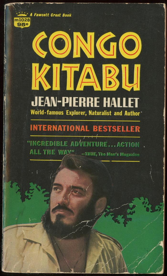 Congo Kitabu, 1968 edition book cover