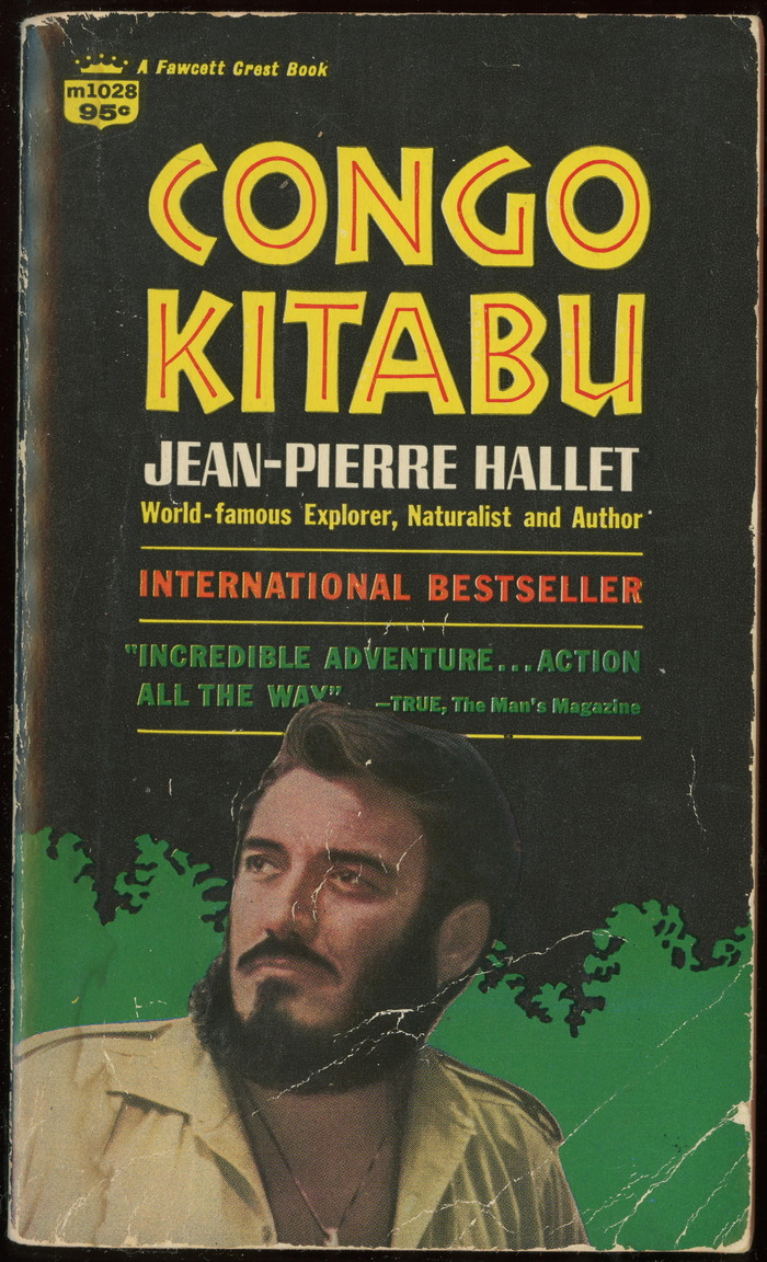 Congo Kitabu, 1968 edition book cover