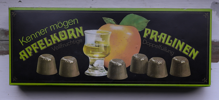 Apfelkorn Pralinen