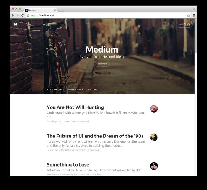 Medium.com (2013) 2