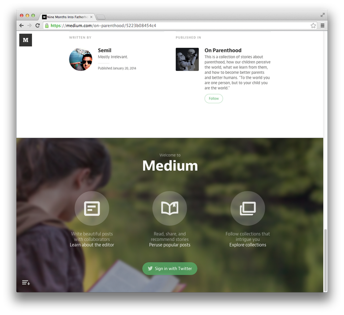Medium.com (2013) 5