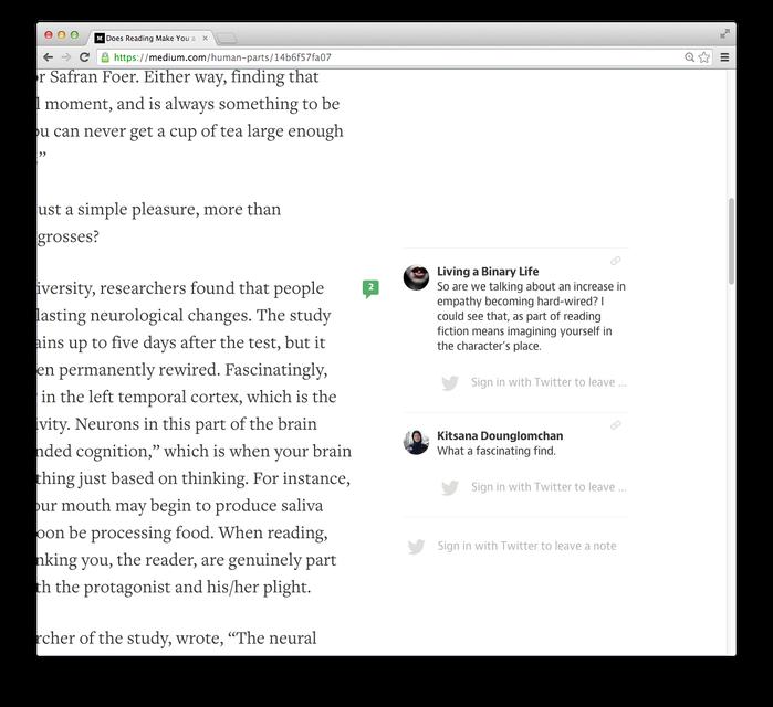 Medium.com (2013) 6