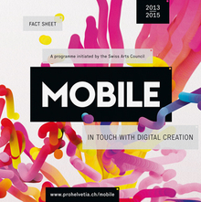 <cite>Mobile. In Touch with Digital Creation​</cite>