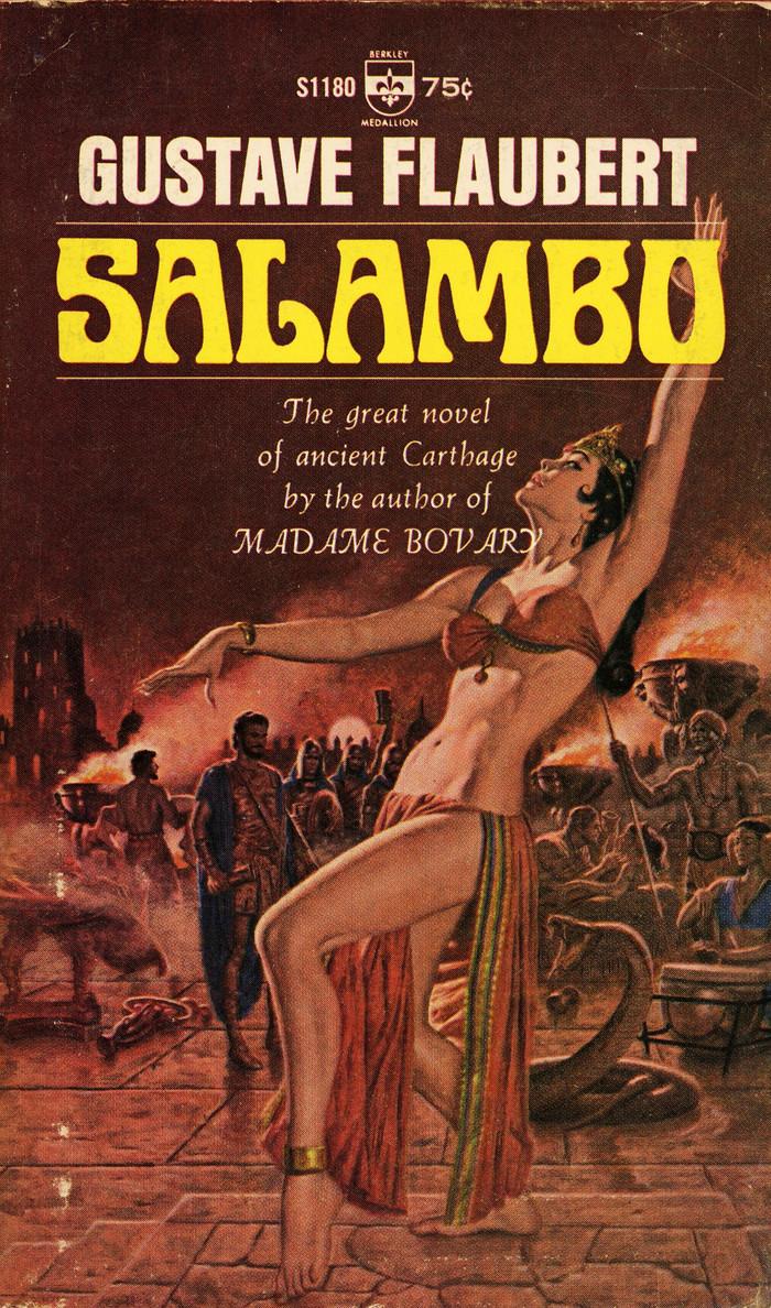 Salambo by Gustave Flaubert, Berkley Books