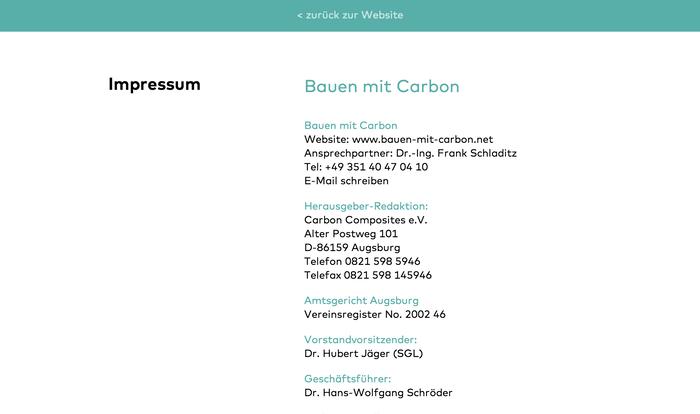 Bauen mit Carbon (Building with Carbon) Conference 6