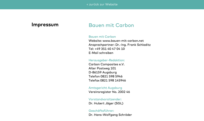 Bauen mit Carbon (Building with Carbon) Conference 6