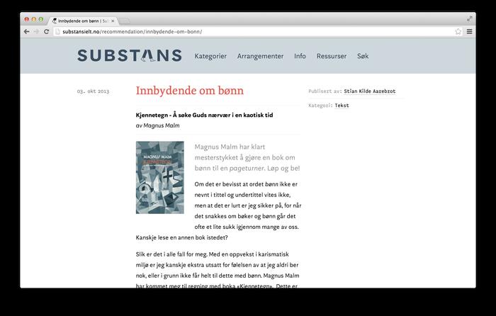 Substans blog 3