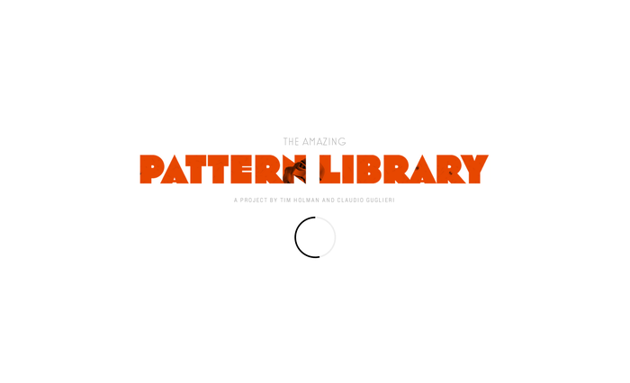 The Amazing Pattern Library 6