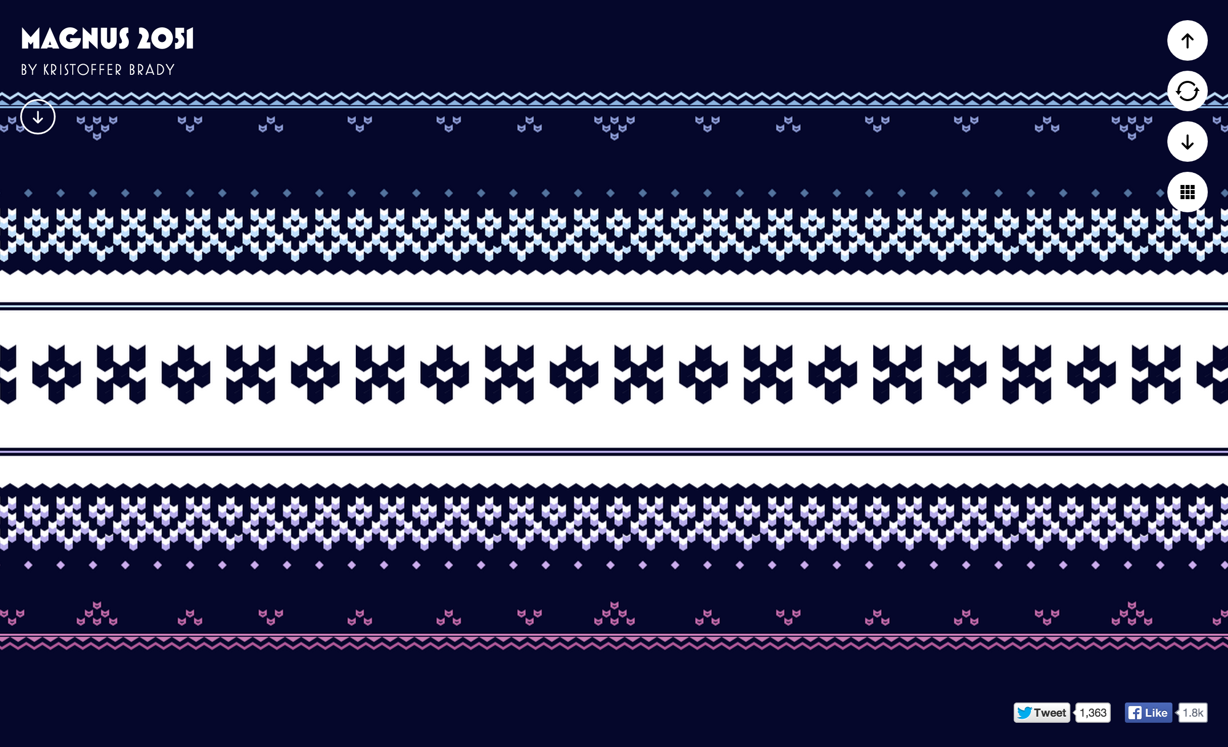 The Amazing Pattern Library - Fonts In Use