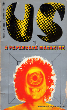 <cite>US, The paperback magazine</cite> covers