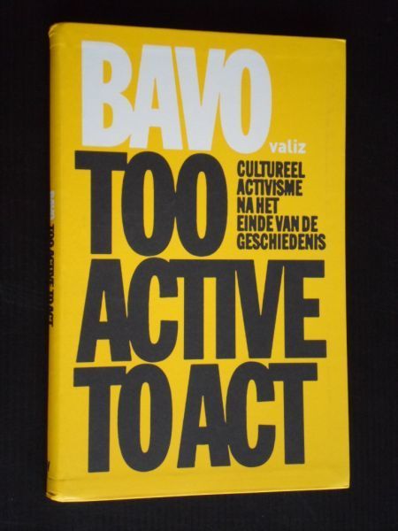 Too Active To Act book cover 1