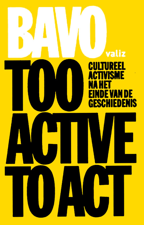 Too Active To Act book cover 2