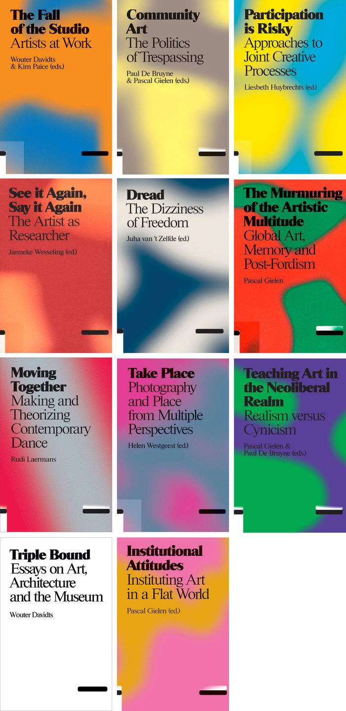 Valiz's Antennae series book covers 2