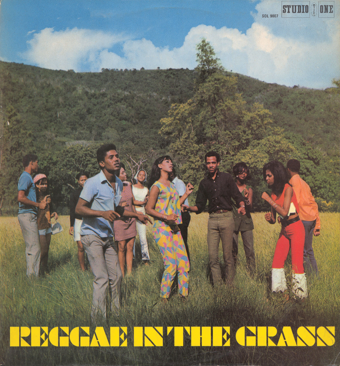 Reggae In The Grass compilation album cover 2