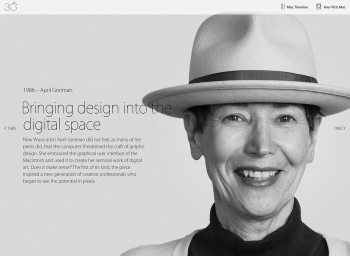Thirty Years of Mac website 1
