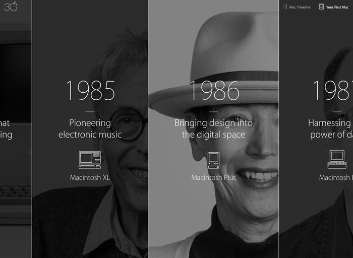 Thirty Years of Mac website 5