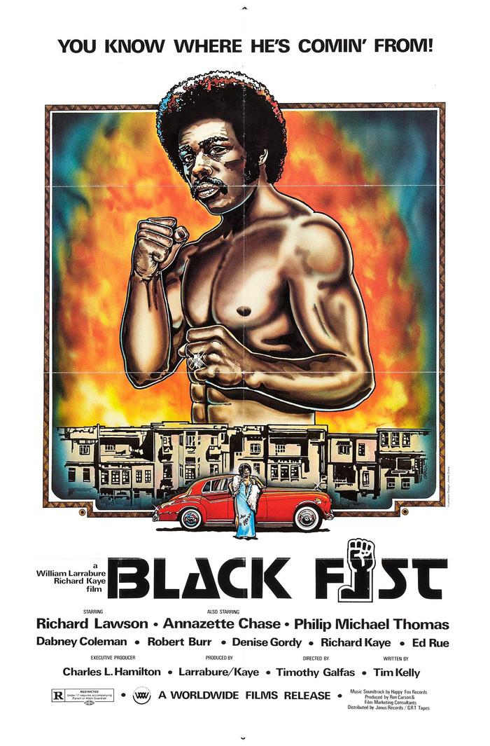 Black Fist movie poster