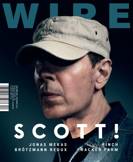The Wire magazine cover, issue 346, December 2012
