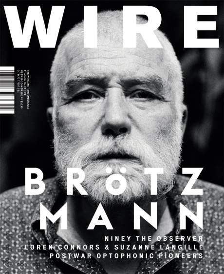 The Wire magazine cover, issue 345, November 2012